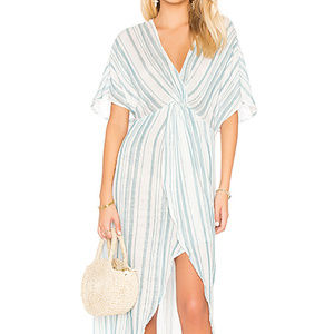 Show Me Your Mumu Get Twisted Striped Maxi Size S